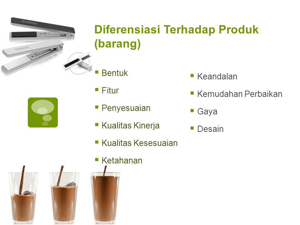 Diferensiasi Terhadap Produk (barang)