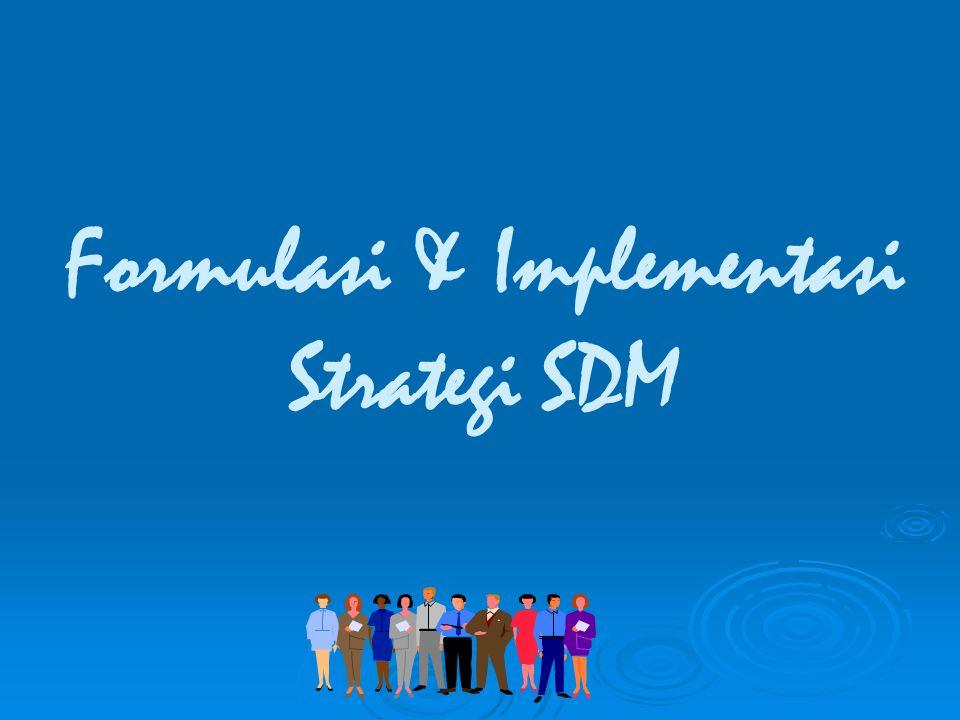 Formulasi & Implementasi