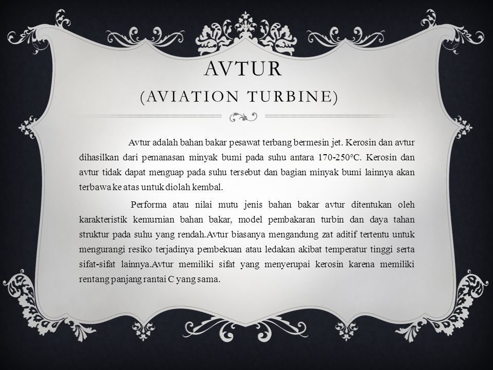 AVTUR (Aviation Turbine)