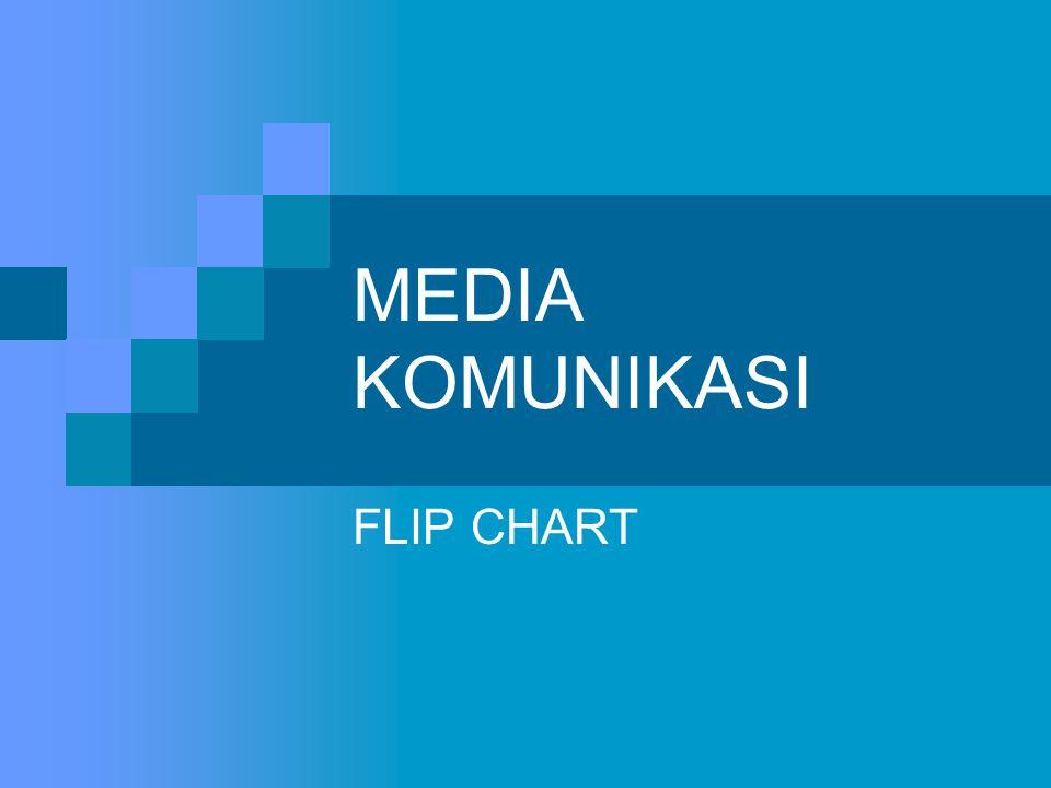 MEDIA KOMUNIKASI FLIP CHART