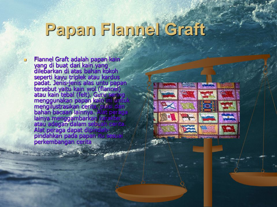 Papan Flannel Graft