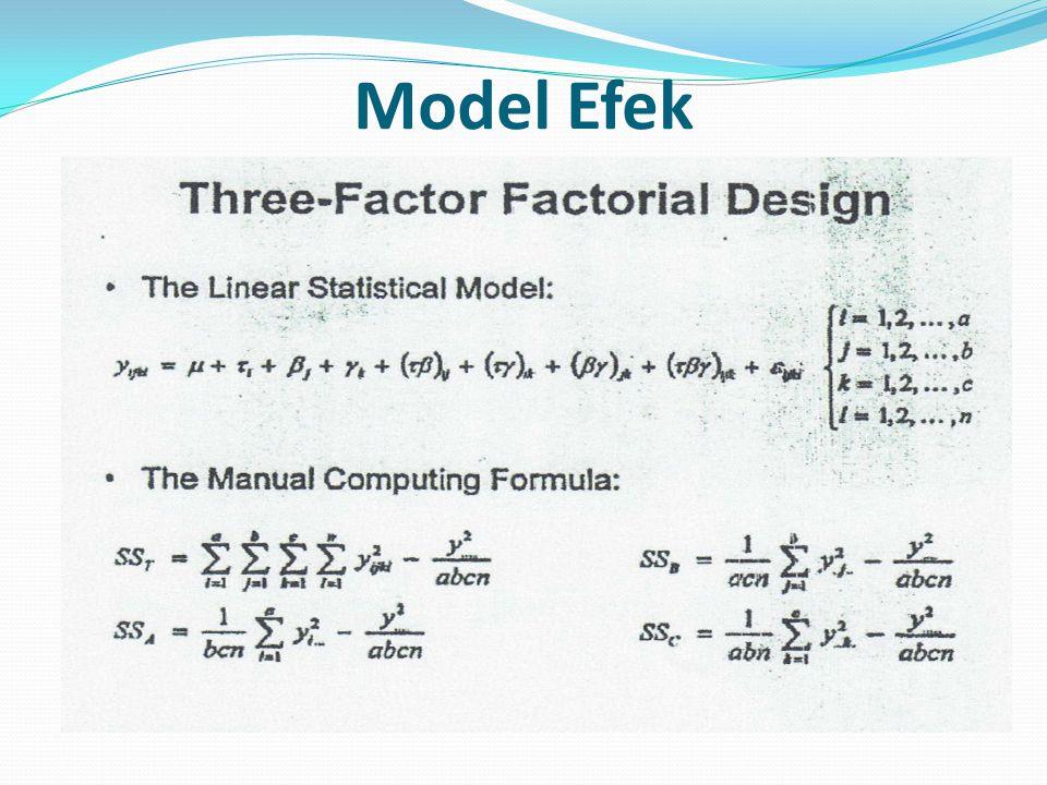 Model Efek