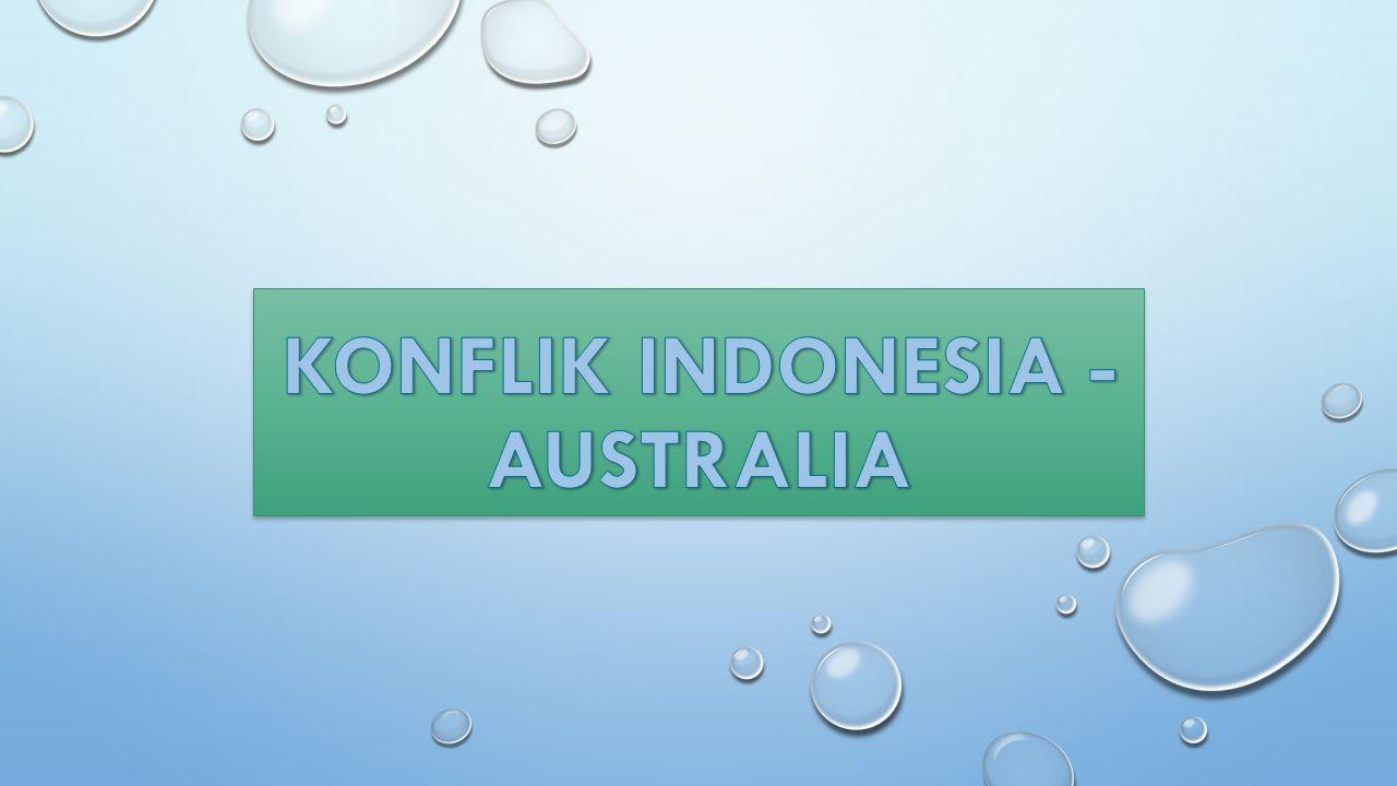 Konflik Indonesia - Australia