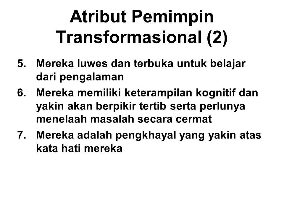 Atribut Pemimpin Transformasional (2)