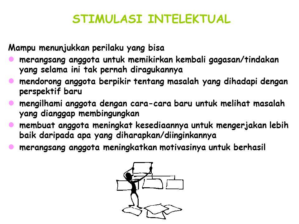 STIMULASI INTELEKTUAL