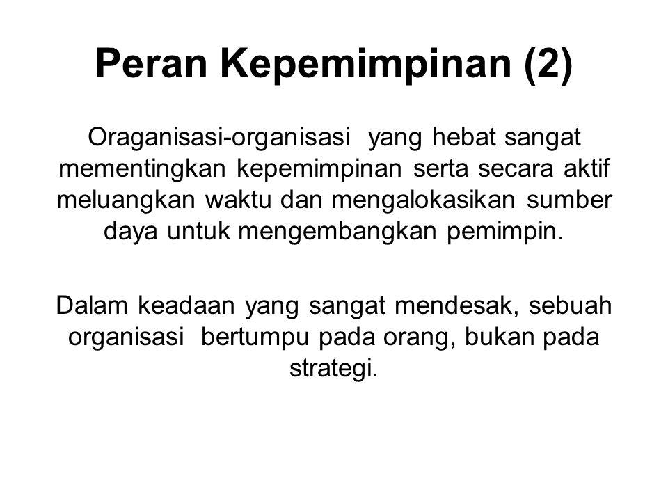 Peran Kepemimpinan (2)