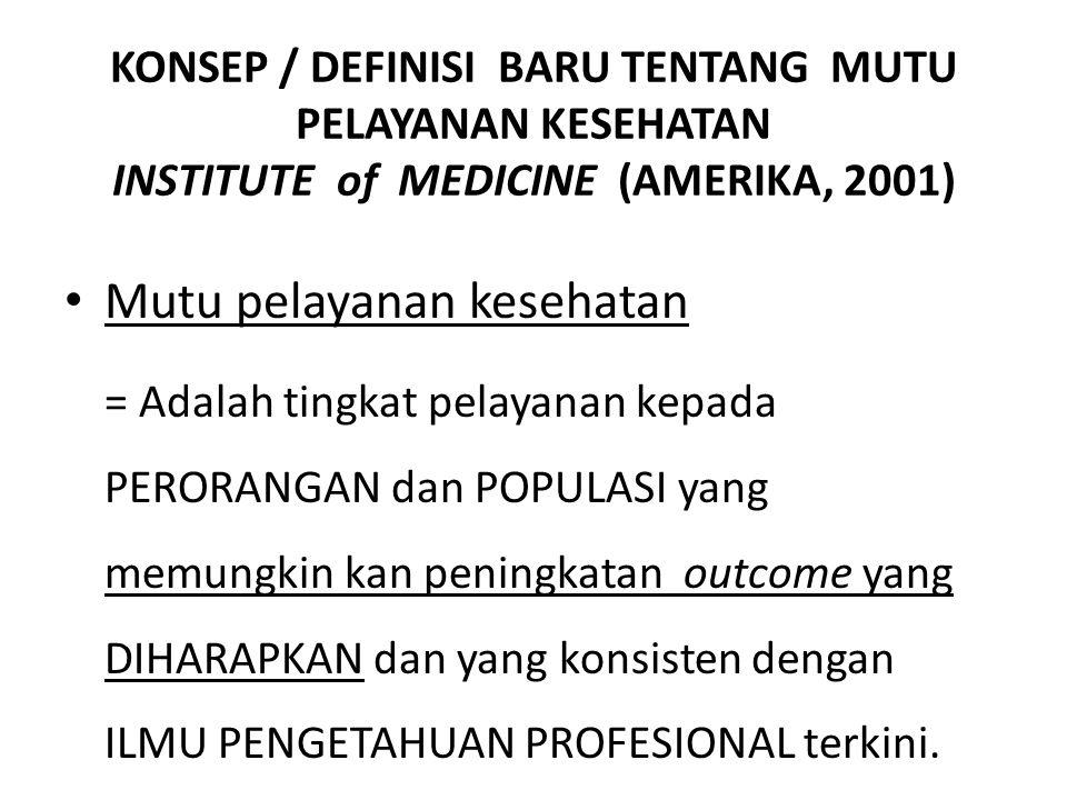 Mutu pelayanan kesehatan