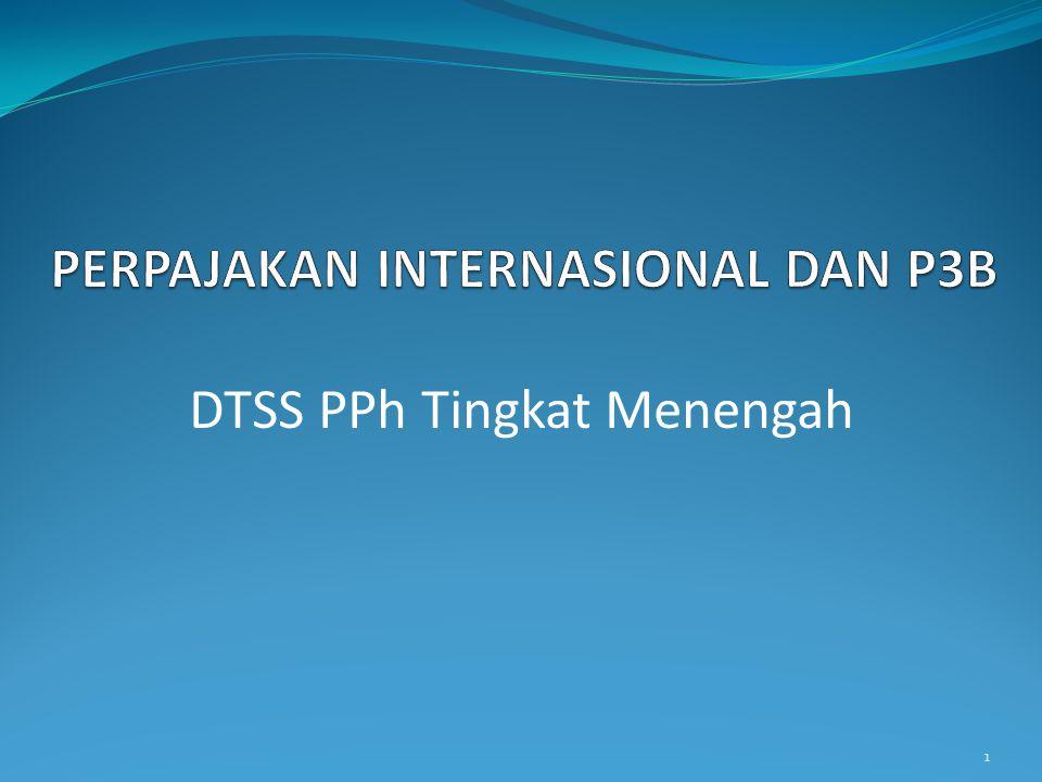 PERPAJAKAN INTERNASIONAL DAN P3B