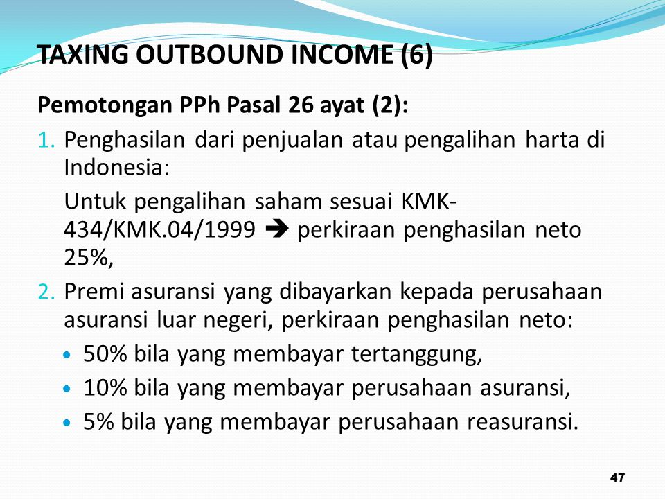 TAXING OUTBOUND INCOME (6)