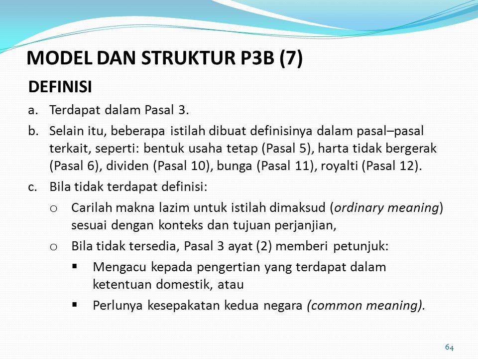 MODEL DAN STRUKTUR P3B (7)