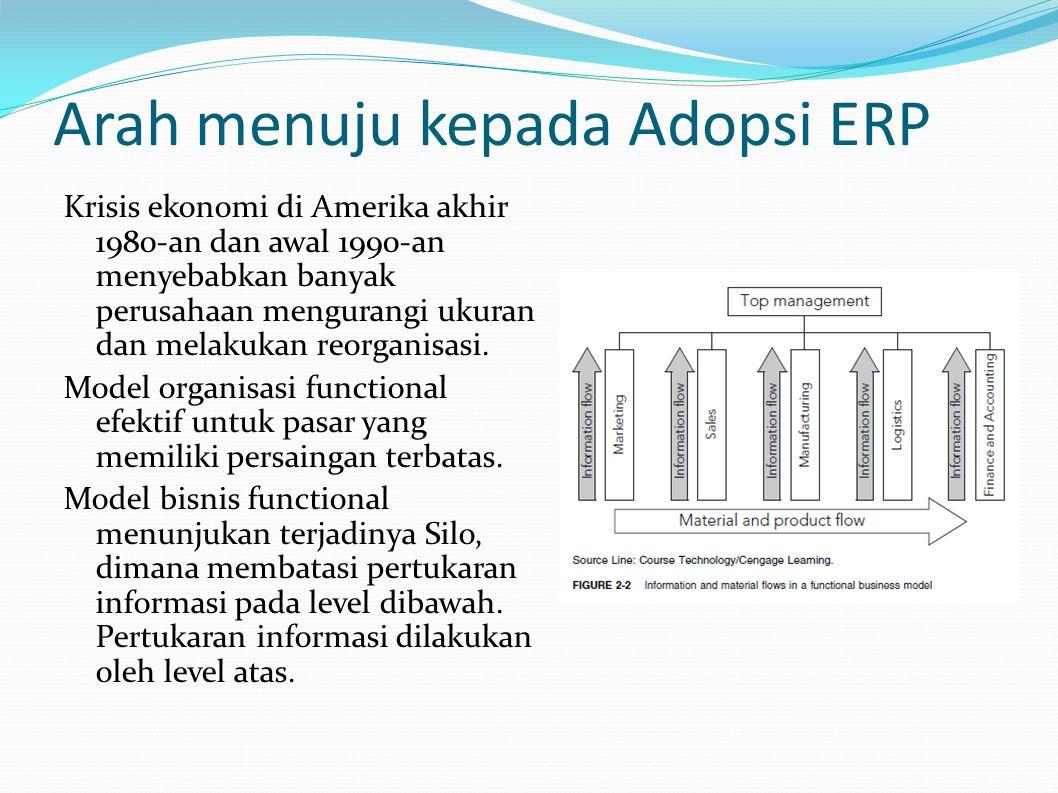 Arah menuju kepada Adopsi ERP