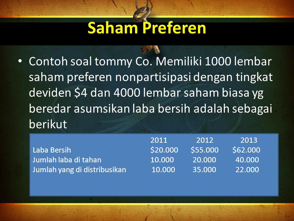 Saham Preferen