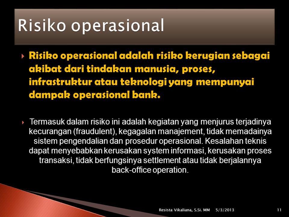 Risiko operasional