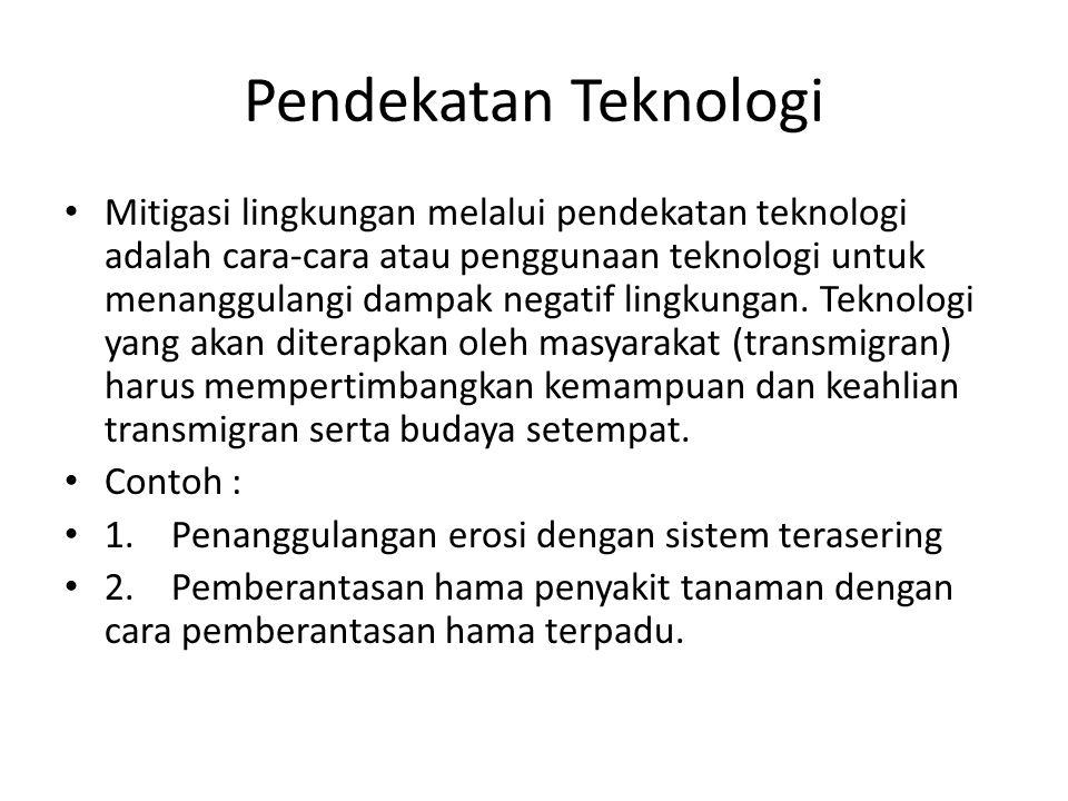 Pendekatan Teknologi