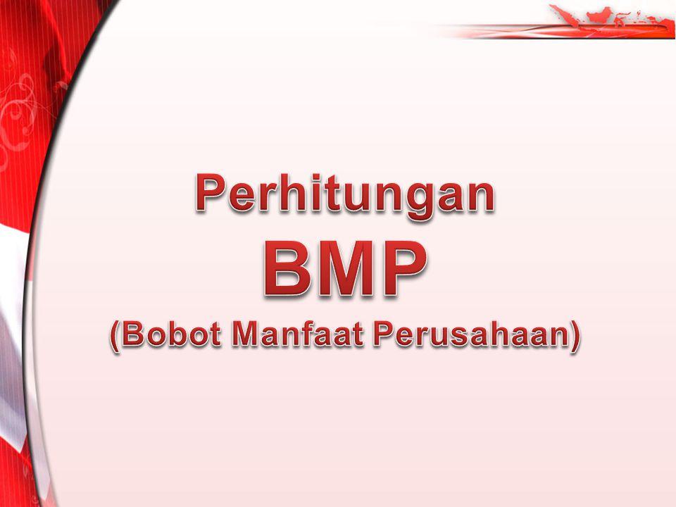 Perhitungan BMP (Bobot Manfaat Perusahaan)