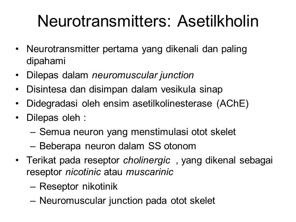 Neurotransmitters: Asetilkholin