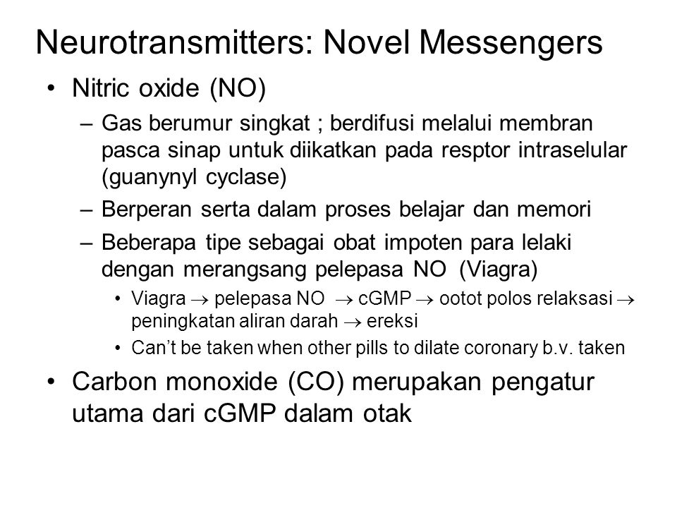 Neurotransmitters: Novel Messengers