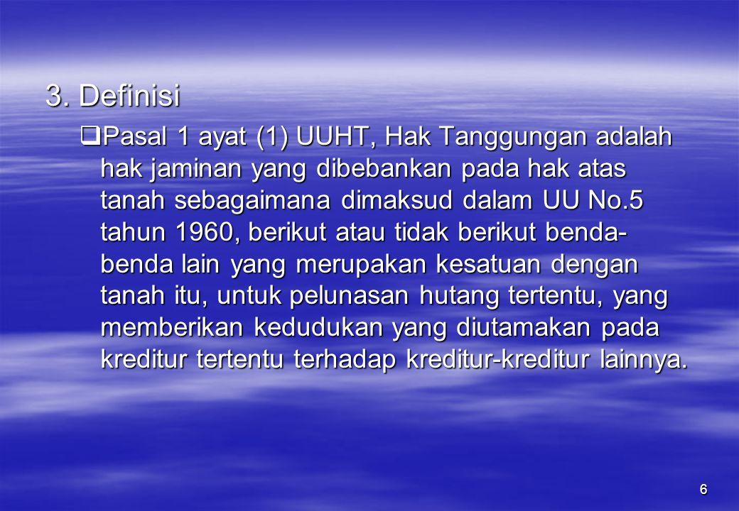 3. Definisi