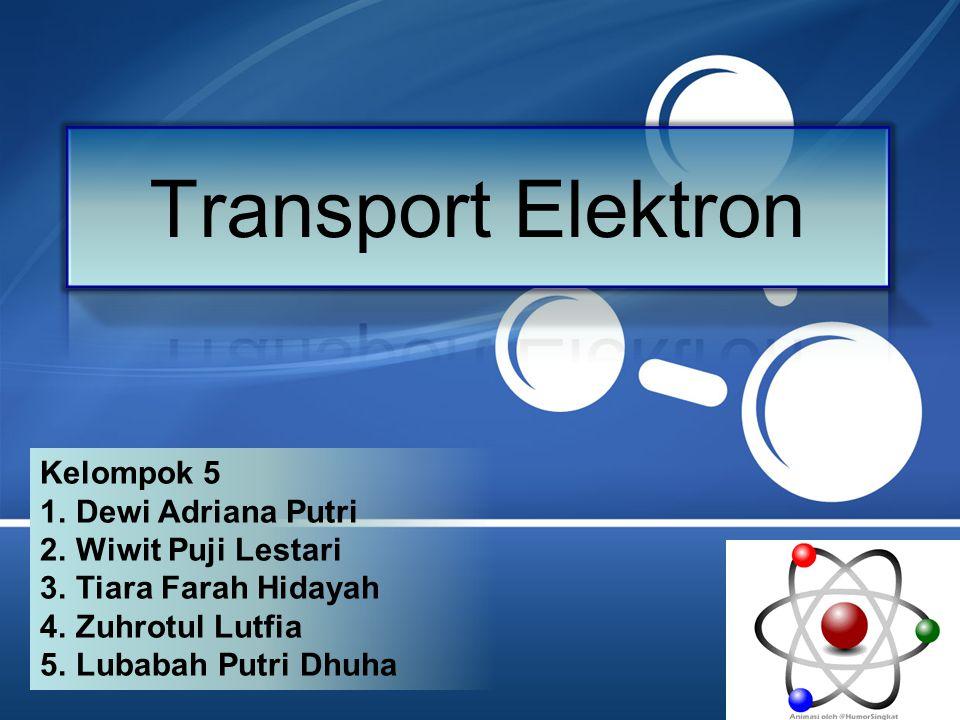 Transport Elektron Kelompok 5 Dewi Adriana Putri Wiwit Puji Lestari