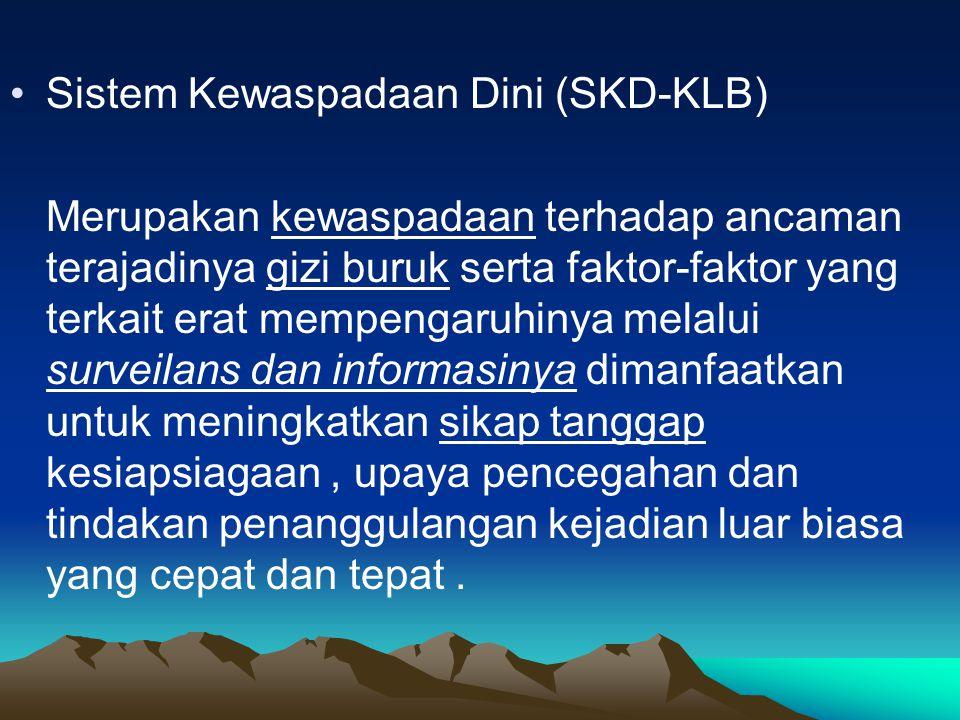 Sistem Kewaspadaan Dini (SKD-KLB)