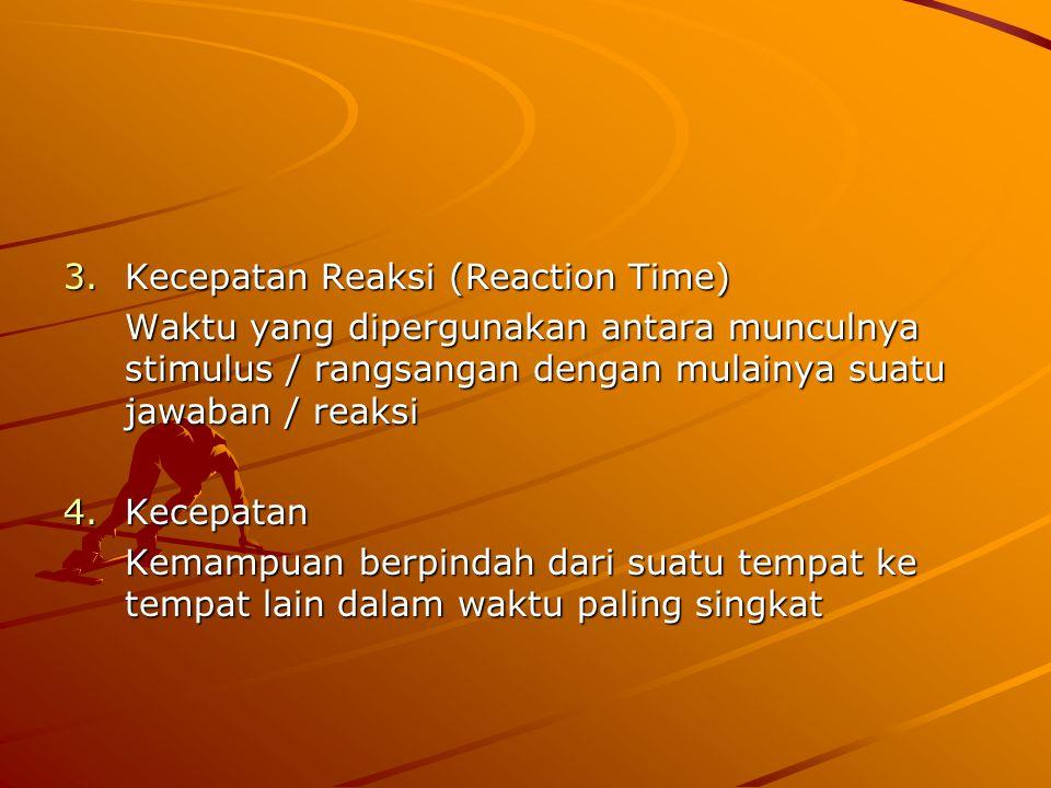 Kecepatan Reaksi (Reaction Time)