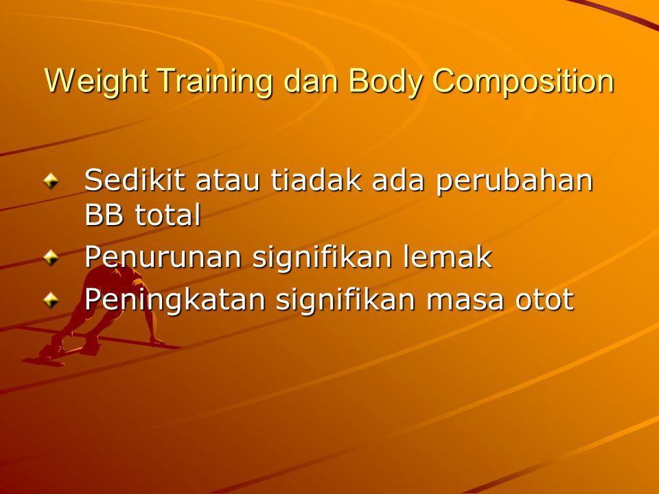 Weight Training dan Body Composition