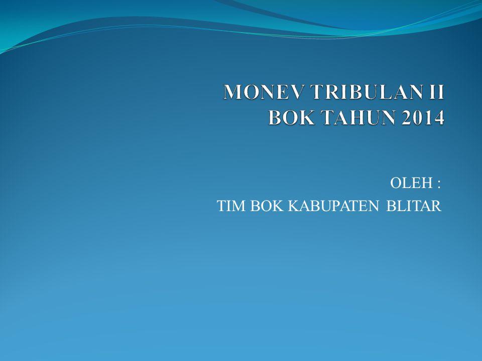 MONEV TRIBULAN II BOK TAHUN 2014
