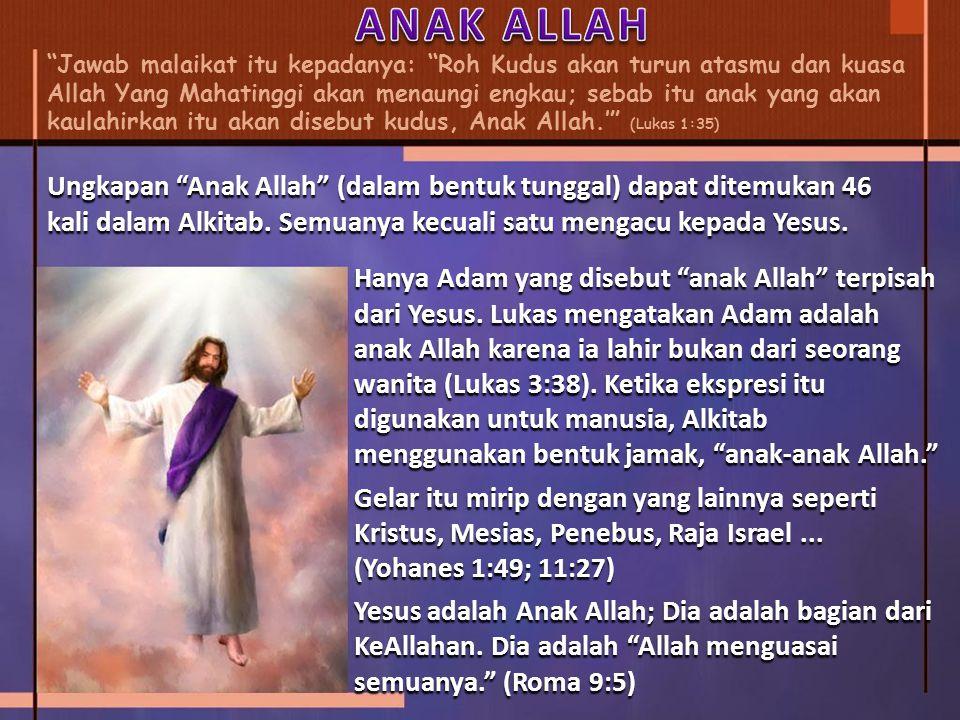 ANAK ALLAH