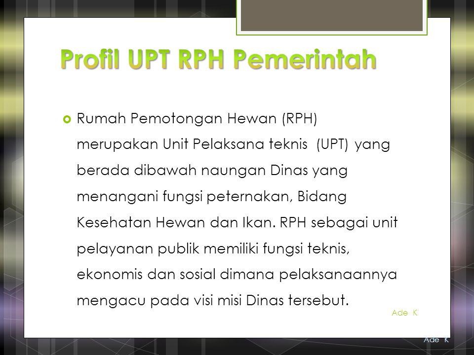 Profil UPT RPH Pemerintah