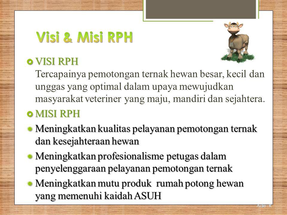 Visi & Misi RPH