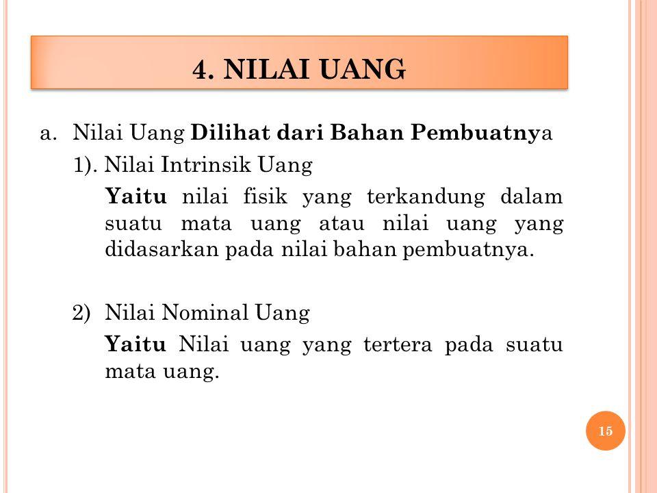 4. NILAI UANG