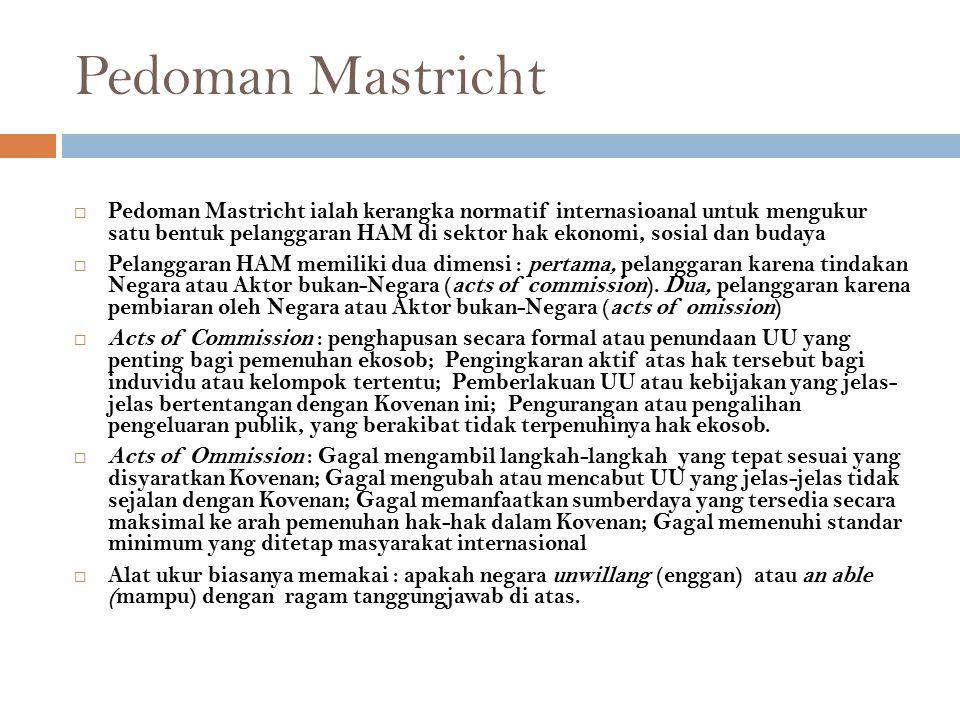 Pedoman Mastricht