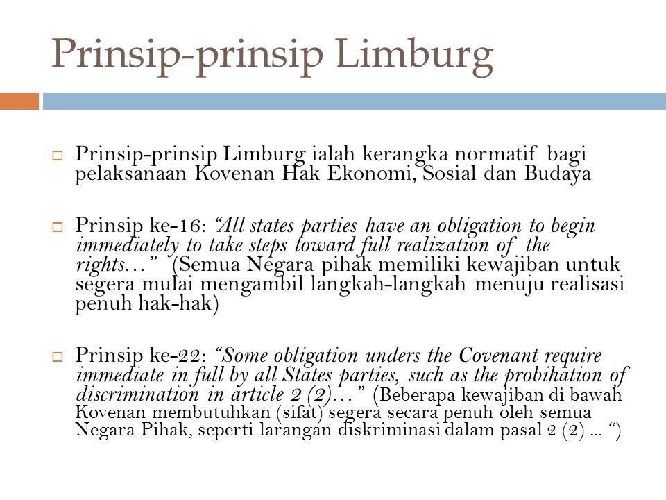 Prinsip-prinsip Limburg