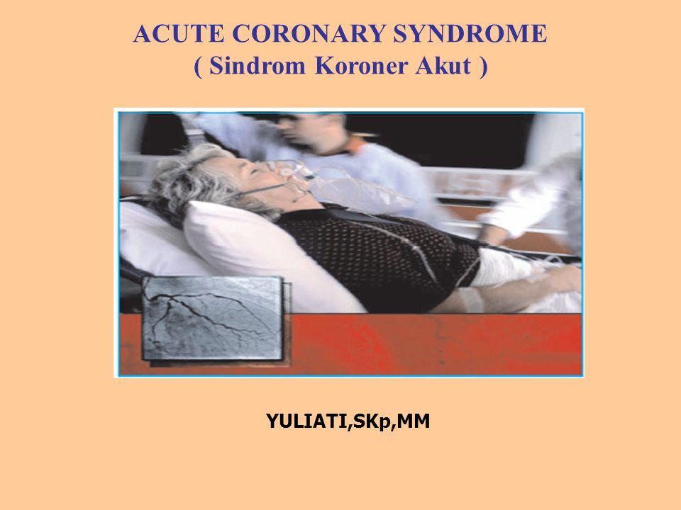 ACUTE CORONARY SYNDROME ( Sindrom Koroner Akut )