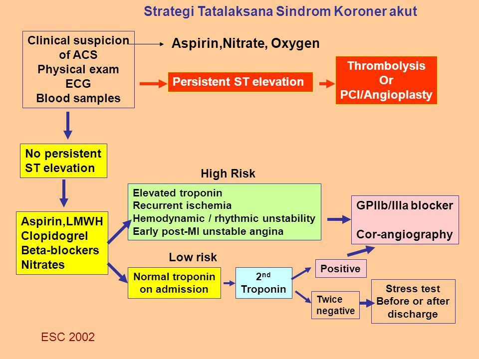 Strategi Tatalaksana Sindrom Koroner akut