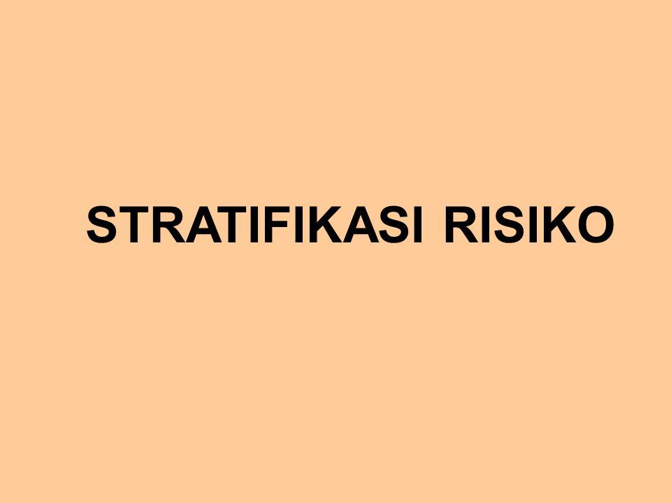 STRATIFIKASI RISIKO