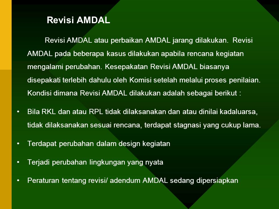 Revisi AMDAL