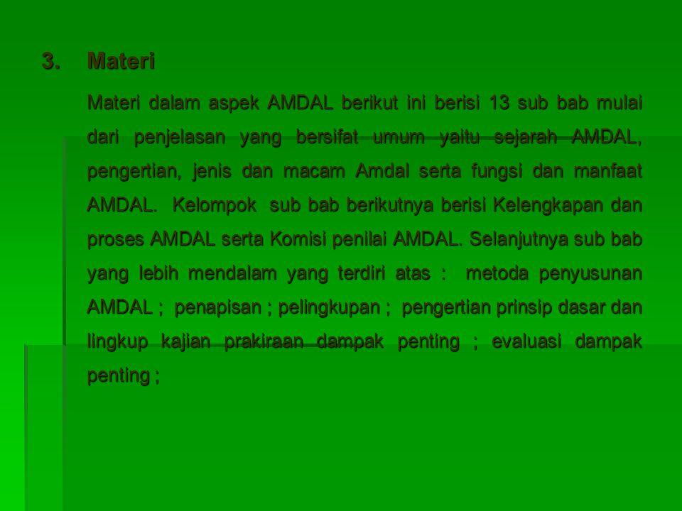 3. Materi
