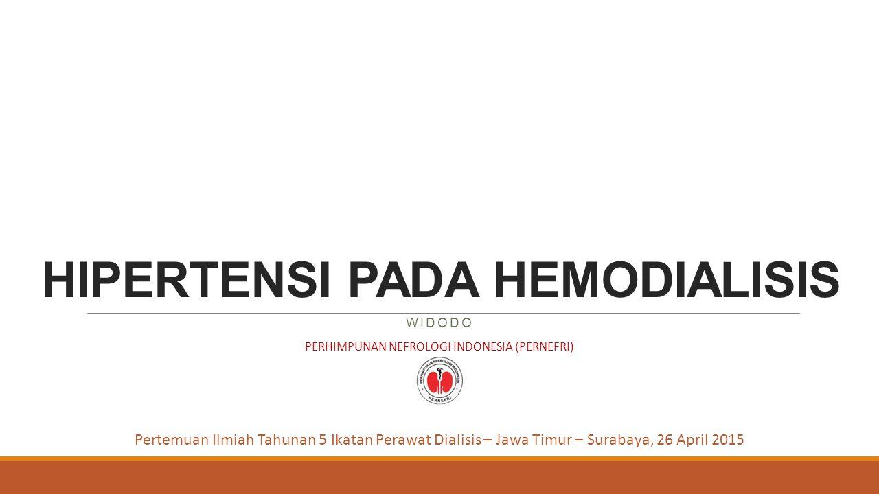 HIPERTENSI PADA HEMODIALISIS
