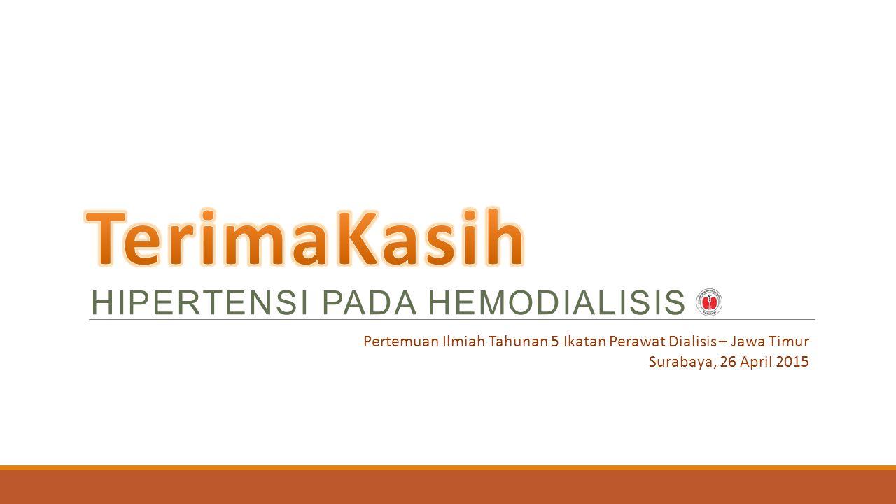TerimaKasih HIPERTENSI PADA HEMODIALISIS