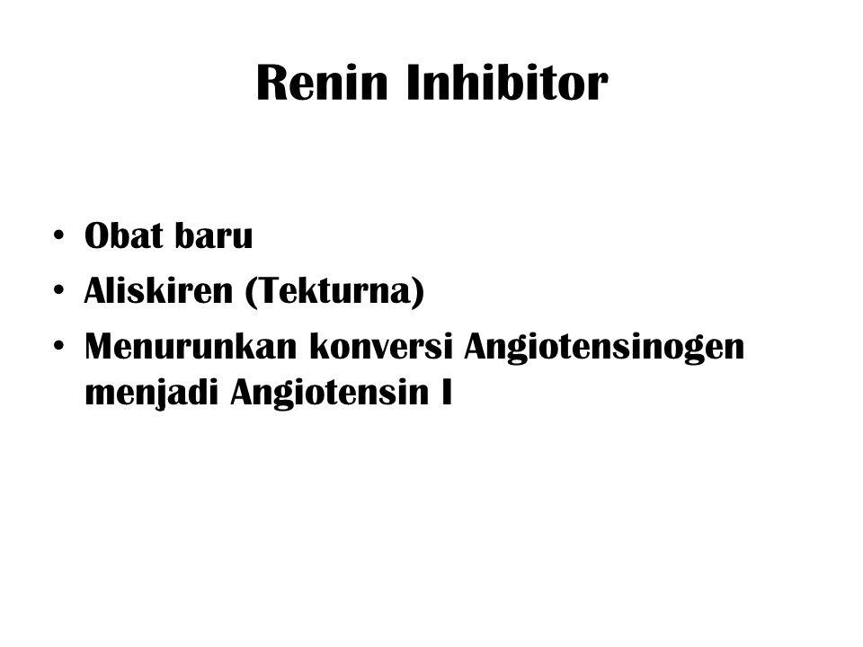 Renin Inhibitor Obat baru Aliskiren (Tekturna)