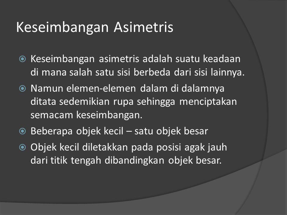 Keseimbangan Asimetris