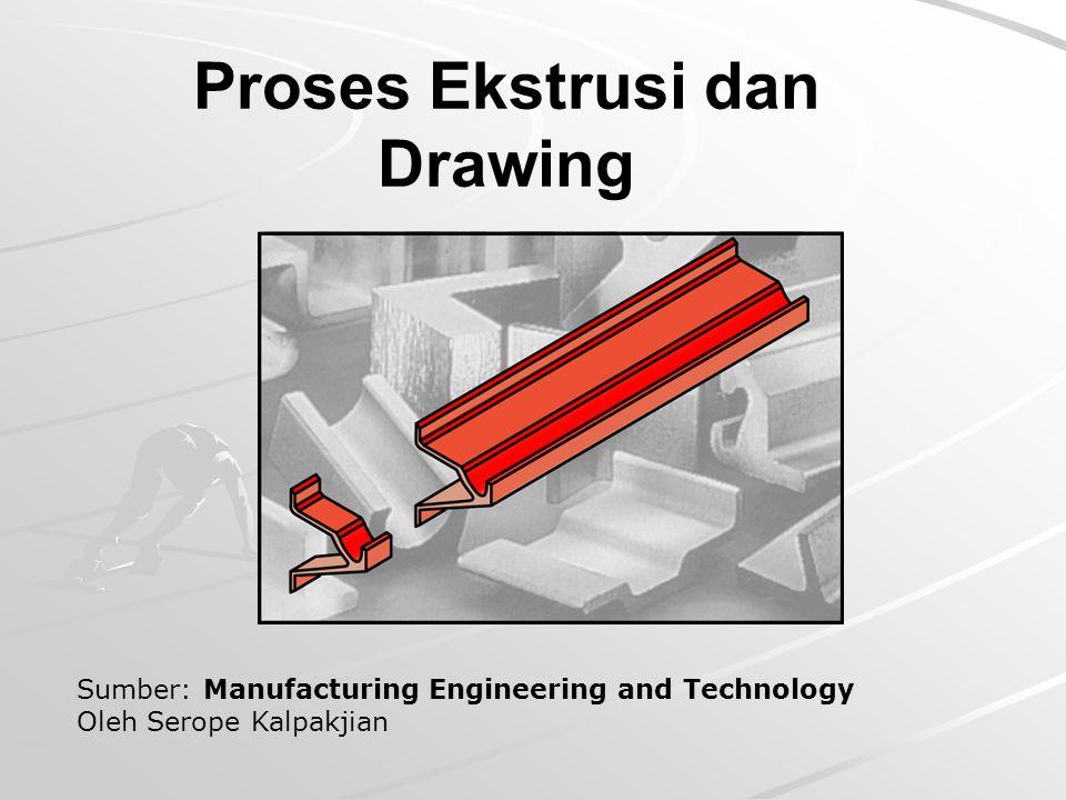 Proses Ekstrusi dan Drawing