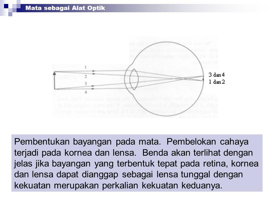 Mata sebagai Alat Optik