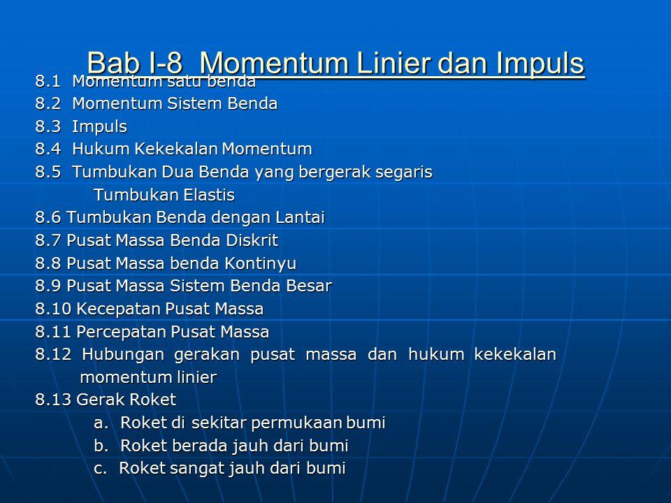 Bab I-8 Momentum Linier dan Impuls