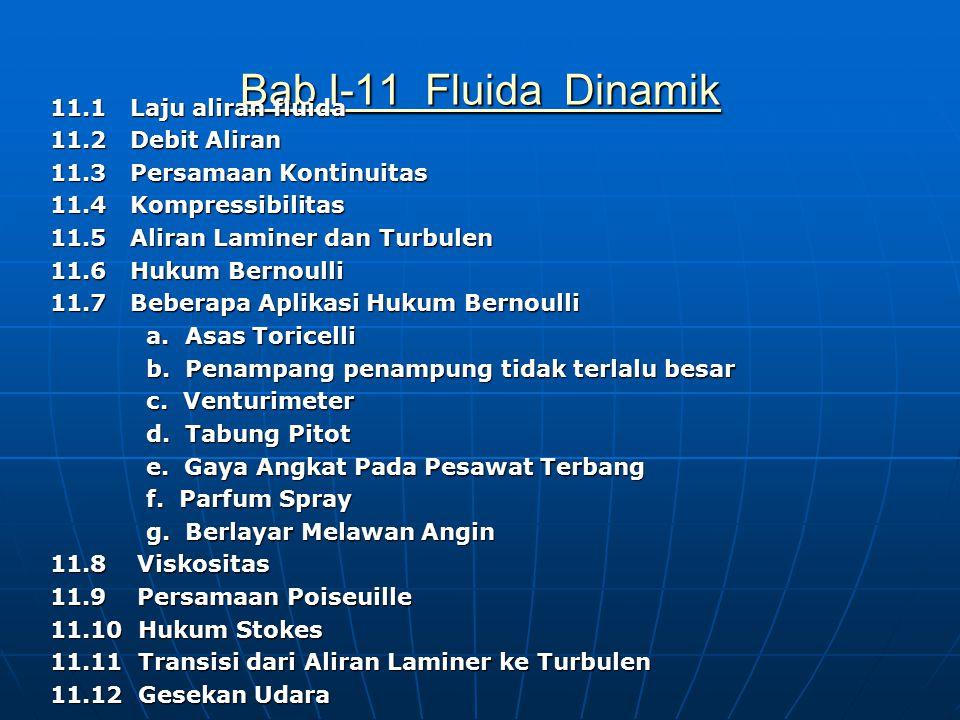 Bab I-11 Fluida Dinamik