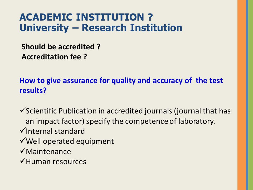 ACADEMIC INSTITUTION University – Research Institution