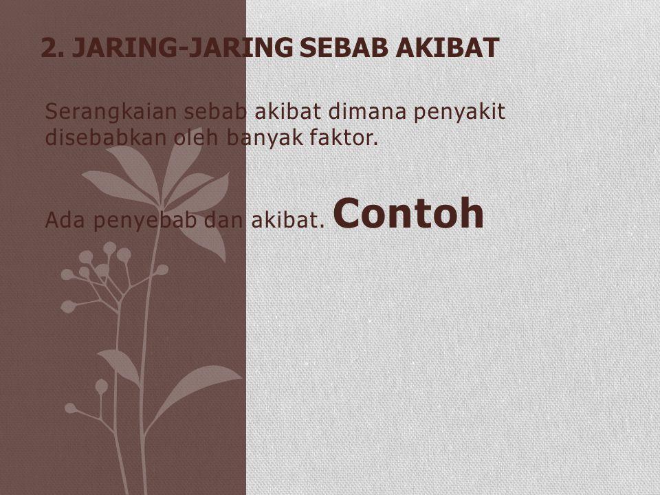 2. Jaring-Jaring Sebab Akibat