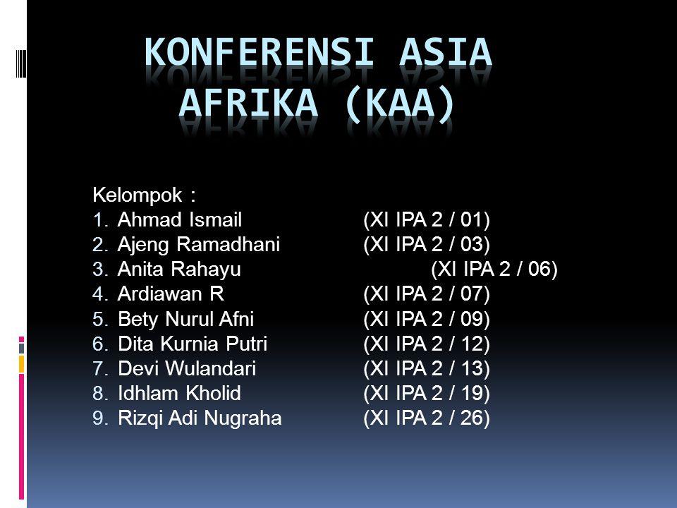Konferensi asia afrika (KAA)