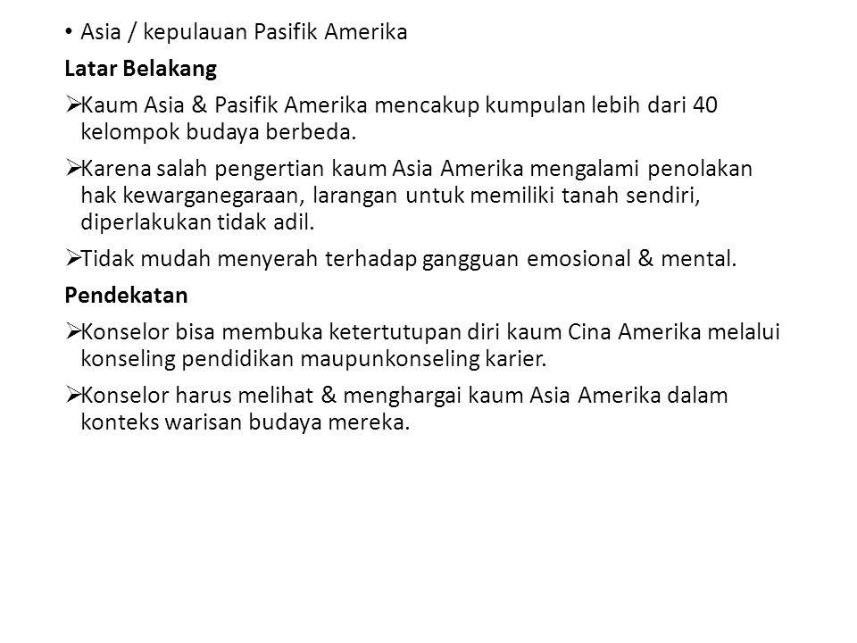Asia / kepulauan Pasifik Amerika